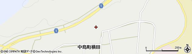 石川県七尾市中島町横田(ツ)周辺の地図