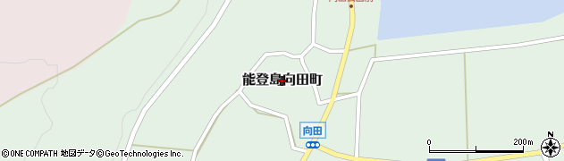 石川県七尾市能登島向田町周辺の地図