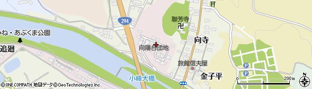 福島県白河市薄葉周辺の地図