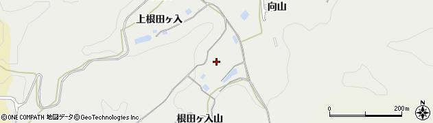 福島県白河市萱根(夕日)周辺の地図