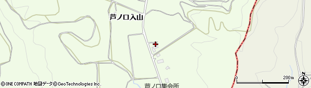 福島県白河市本沼(芦ノ口入山)周辺の地図