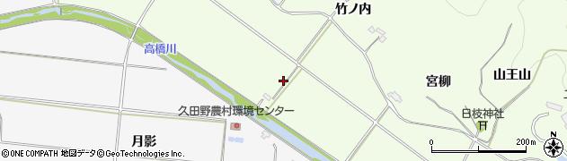 福島県白河市本沼(明地)周辺の地図