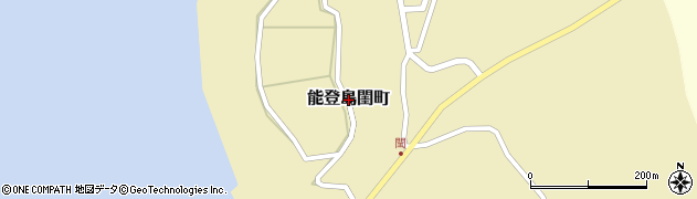 石川県七尾市能登島閨町周辺の地図