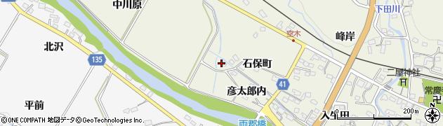 福島県いわき市小川町上小川(中川原)周辺の地図