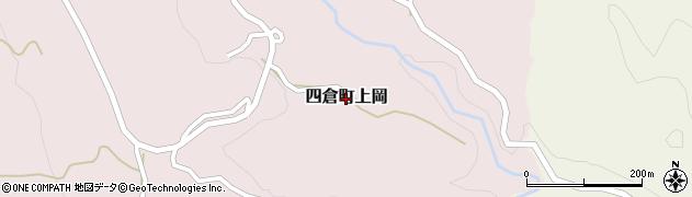 福島県いわき市四倉町上岡周辺の地図