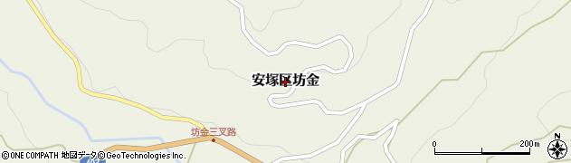 新潟県上越市安塚区坊金周辺の地図