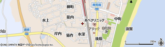 福島県いわき市久之浜町久之浜(立町)周辺の地図