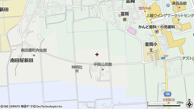 〒943-0163 新潟県上越市平岡の地図