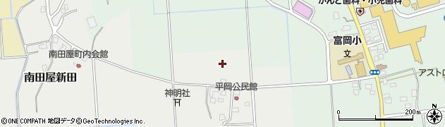 新潟県上越市平岡周辺の地図