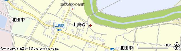 新潟県上越市上真砂周辺の地図