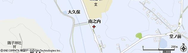 福島県白河市泉田(南之内)周辺の地図
