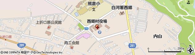 福島県西白河郡西郷村周辺の地図