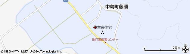 石川県七尾市中島町藤瀬(と)周辺の地図