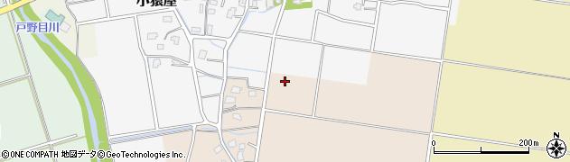 新潟県上越市小猿屋新田周辺の地図
