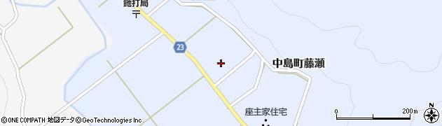 石川県七尾市中島町藤瀬(ト)周辺の地図