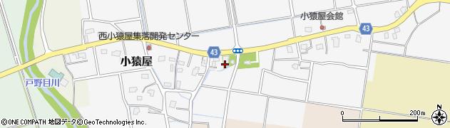 忍西寺周辺の地図