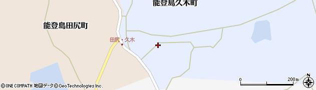 石川県七尾市能登島久木町(ツ)周辺の地図