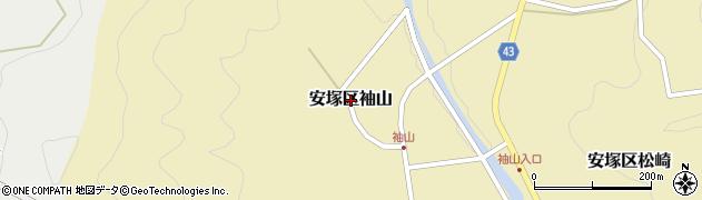 新潟県上越市安塚区袖山周辺の地図