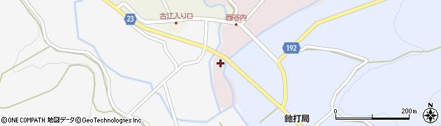 石川県七尾市中島町西谷内(イ)周辺の地図