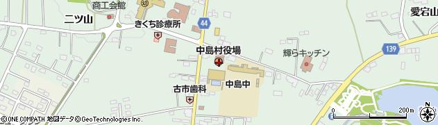 福島県西白河郡中島村周辺の地図