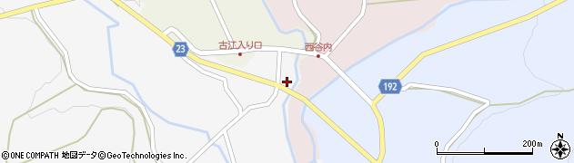 石川県七尾市中島町鳥越(ヘ)周辺の地図