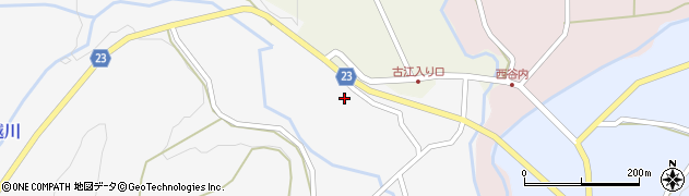 石川県七尾市中島町鳥越(チ)周辺の地図