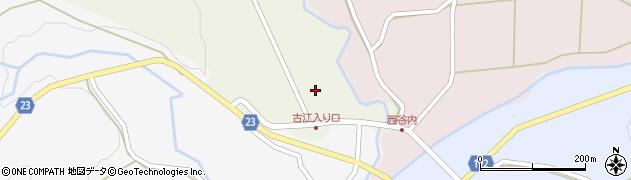 石川県七尾市中島町古江(乙)周辺の地図