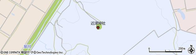 福島県西白河郡矢吹町諏訪清水周辺の地図