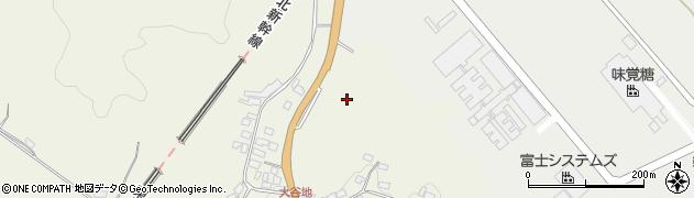 福島県白河市豊地(古屋敷)周辺の地図