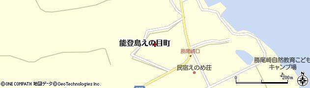 石川県七尾市能登島援目町周辺の地図