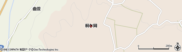 福島県いわき市小川町柴原(桐ケ岡)周辺の地図