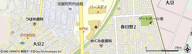 新潟県上越市毘沙門国分寺周辺の地図