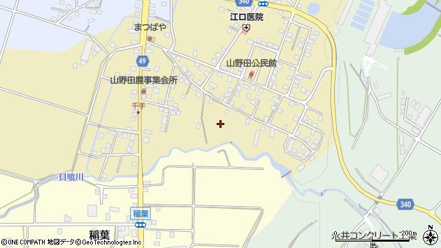 〒948-0143 新潟県十日町市山野田の地図