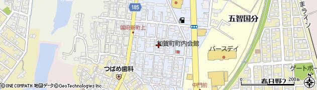新潟県上越市加賀町周辺の地図