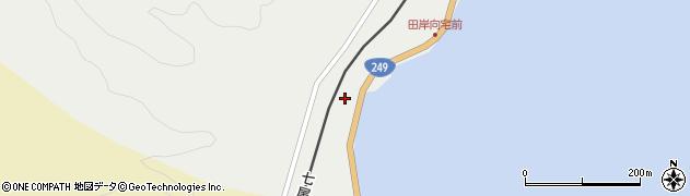 石川県七尾市中島町田岸(ハ)周辺の地図