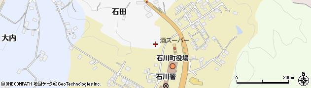 福島県石川郡石川町周辺の地図