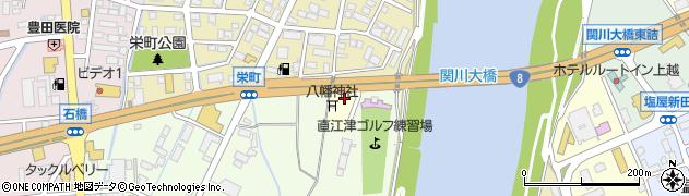 新潟県上越市轟木周辺の地図