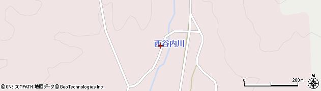 石川県七尾市中島町西谷内(レ)周辺の地図