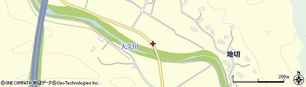 福島県いわき市大久町大久(堂目木)周辺の地図