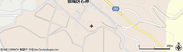 新潟県上越市頸城区石神新田周辺の地図