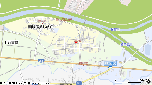 〒942-0138 新潟県上越市頸城区望ケ丘の地図
