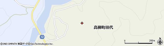 新潟県柏崎市高柳町田代周辺の地図