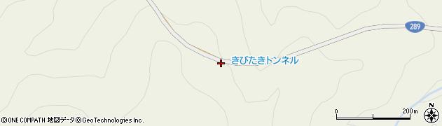 きびたきトンネル周辺の地図