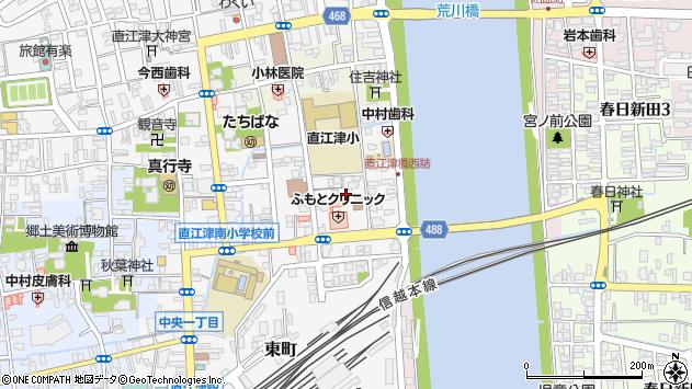 〒942-0001 新潟県上越市中央の地図
