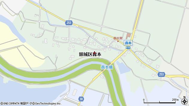 〒942-0223 新潟県上越市頸城区森本の地図