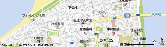 大神宮周辺の地図
