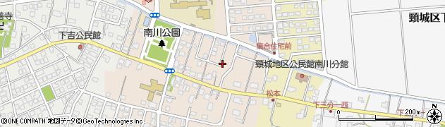 新潟県上越市頸城区上吉周辺の地図