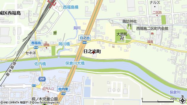 〒942-0014 新潟県上越市日之出町の地図