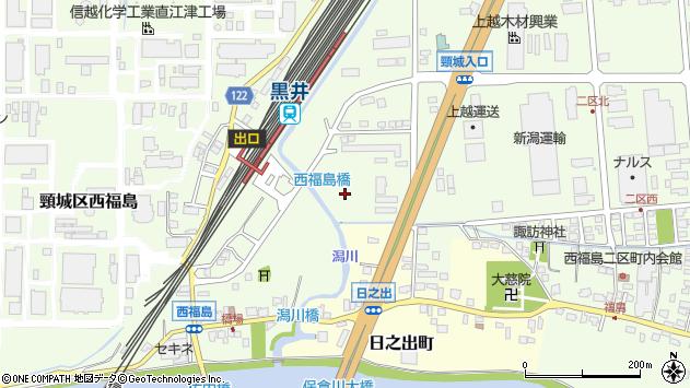 〒942-0013 新潟県上越市黒井の地図