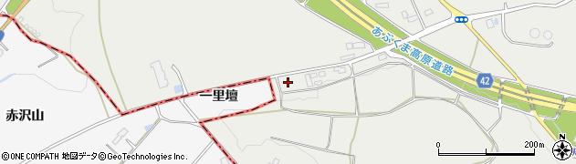 福島県西白河郡矢吹町五本松周辺の地図